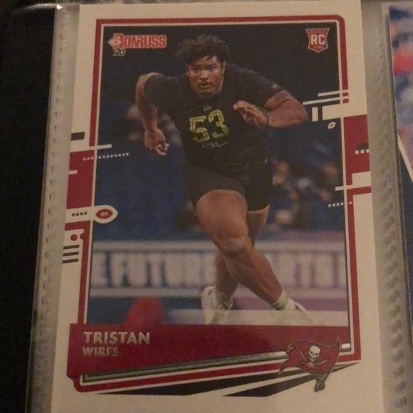 Tristan Wirfs Rookir Card
